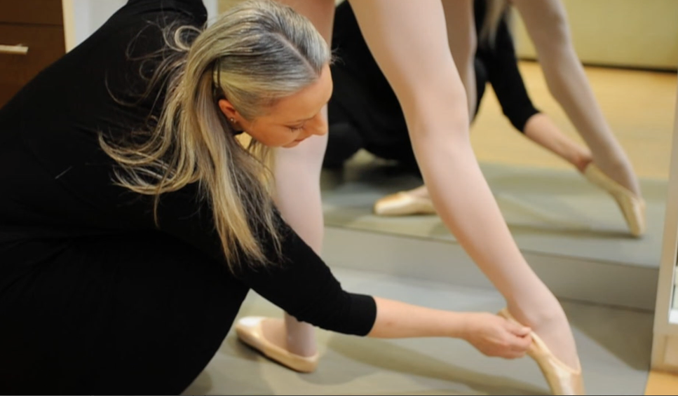 Top Tip #4 – First Pointe Shoe Fitting
