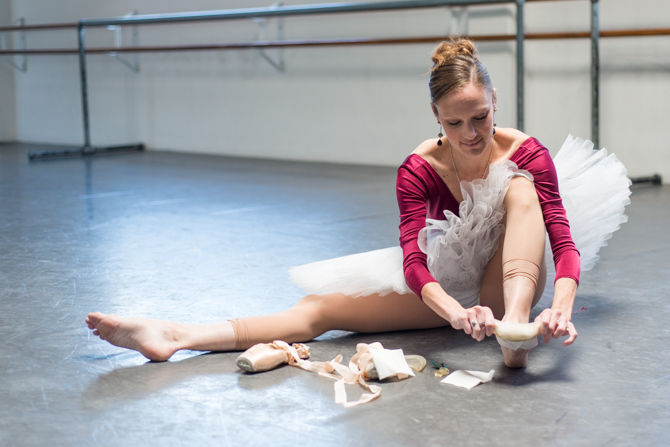 Top Tip #8 – Preparing Toes For Pointe Work
