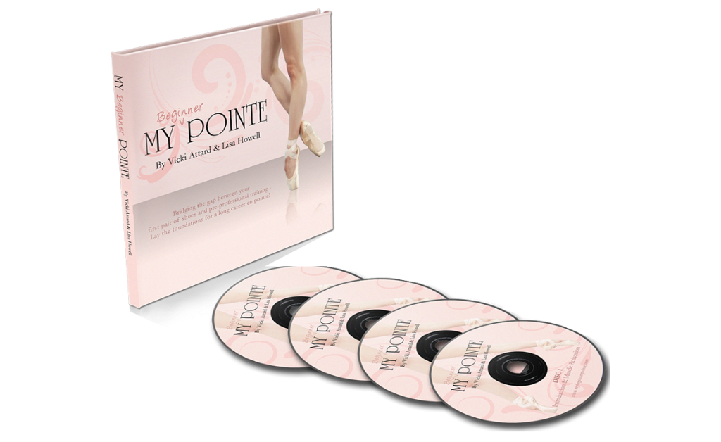 My Beginner Pointe Vicki Attard Lisa Howell 4 discs